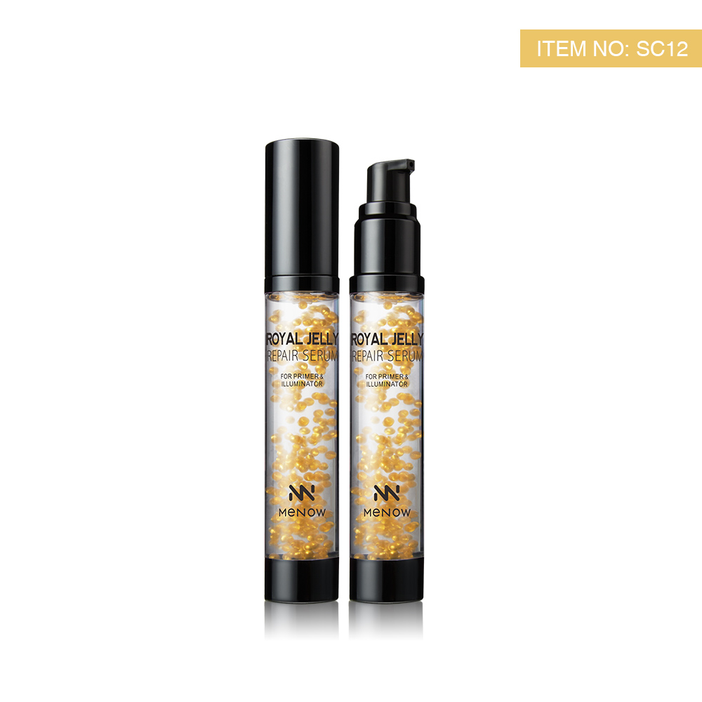 Cosmetic Royal Jelly Repair Serum Makeup Primer
