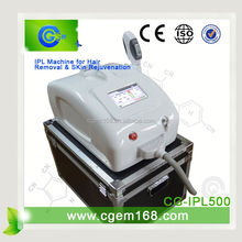 CG-IPL500 Most effective ipl elight depilation for Hair removal and Skin rejuvenation