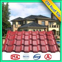 Hot Sales Synthetic Resin Asian Style Roof Tiles