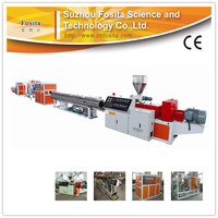 16-63mm PVC Pipe Production Line/factory price PVC pipe extruder machine