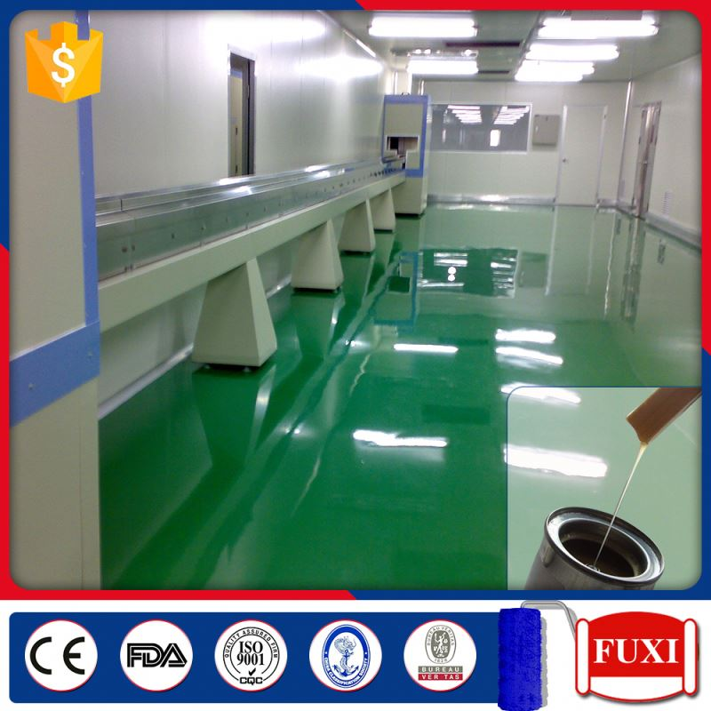 FXHD88-33 Solvent Epoxy Self-leveling Seal Primer Indoor Concrete Flooring Paint