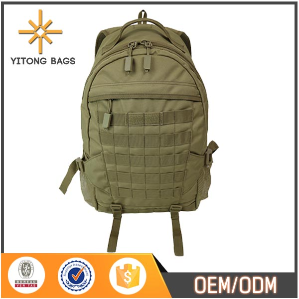 Double Zippered Large Capacity Sports Bag Waterproof Outdoor Military Tactical Backpack For Traveling