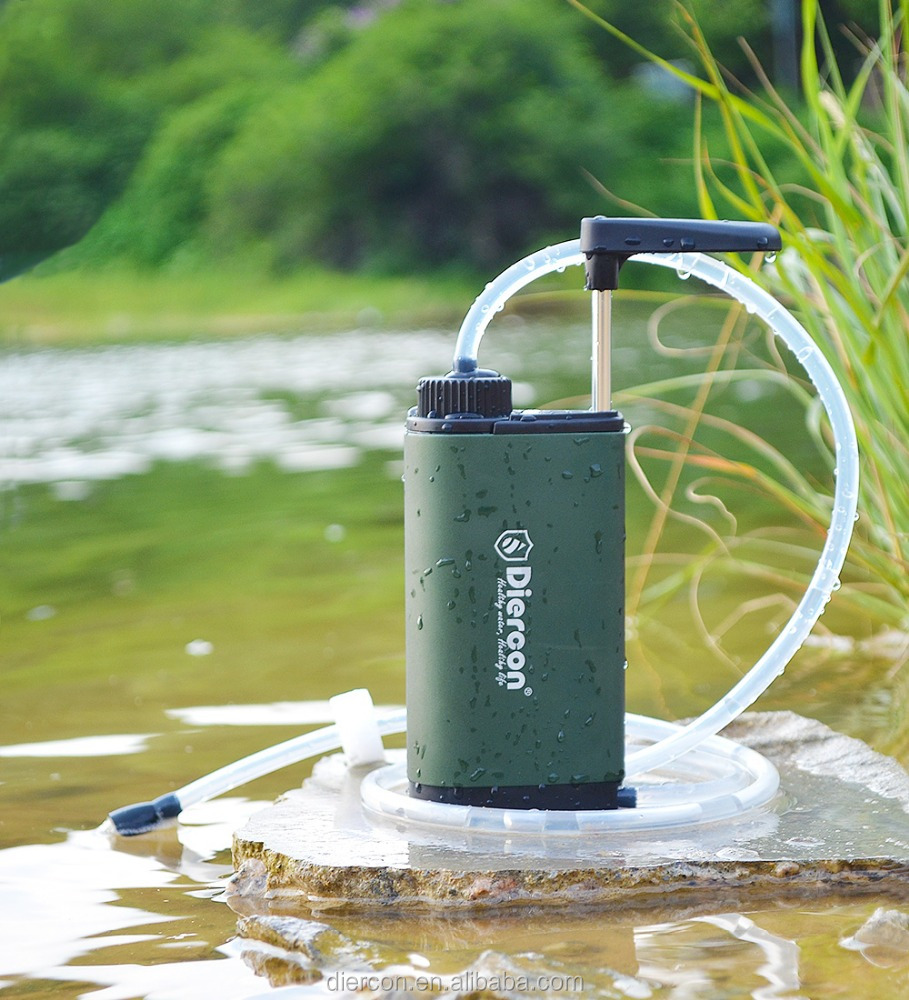Diercon high quality portable water filter for soldier field work soften water system (TW01)