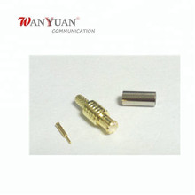 MCX male straight RF Connector crimp for RG316 RG174 RG178 Cable adapter