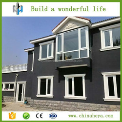 Quick Assembling Cost Save Two Layer Foamed Cement Board House with New Technology for Earthquake proof