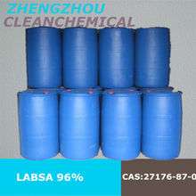 Manufacturer price of Linear Alkyl Benzene Sulfonic Acid LABSA 96% in China