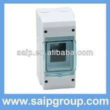 2013new ourdoor box plastic clear pvc box SPS-3WAY