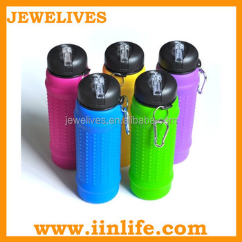 2015 great office travel creative gifts for silicone bottle