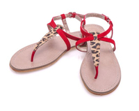 Latest sexy girls flat gladiator sandal shoes new designer womens flats summer shoes sandals girls red cheap strappy gladiator
