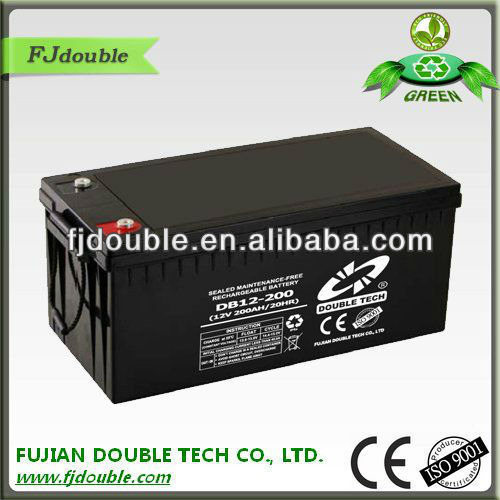 12v solar panel batteries,12v 200ah wind power storage battery with factory price