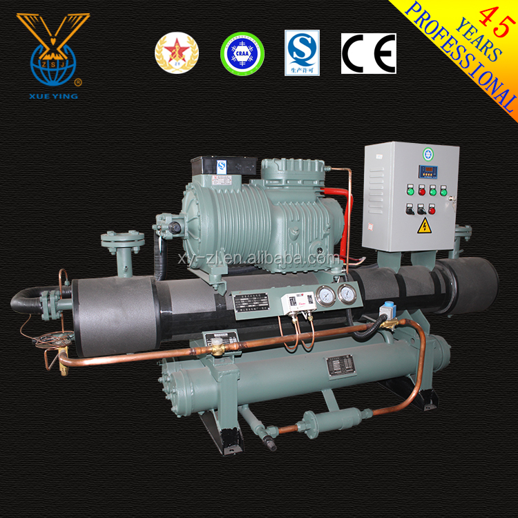 High efficient heat exchanger cooling water chiller R22 industrial water chiller