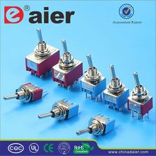 Daier thermal switch for electric motor