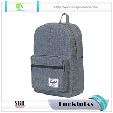 cool 600-denier polyester simple laptop backpack with organizers