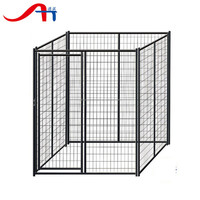 china wholesale Large outdoor cheap welded wire dog kennel / pet enclosure