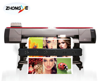 large format Eco Solvent Printer with 1.8m for indoor and outdoor advertising industry
