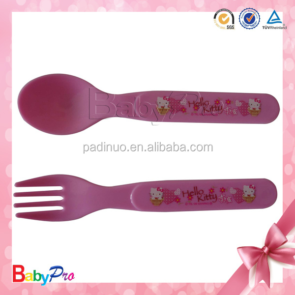 2014 Hot Sale Plastic Forks And Spoons Soup Honey Spoon