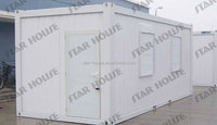 Prefab Flat Pack container labor camp/Prefabricated Modular Container homes/modular container cabin