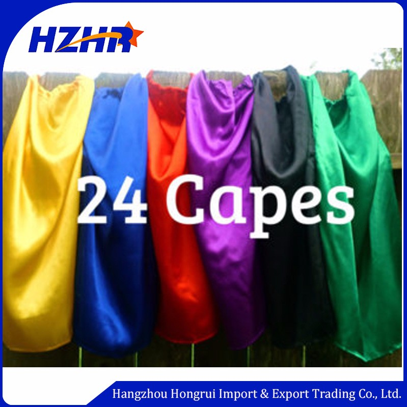 Wholesale Halloween Customized Logo costume Cape Mask customized logo Bracelet set Blank cape