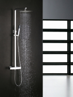 single lever thermostatic bath shower mixer