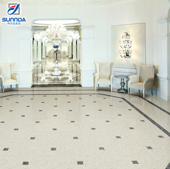 Lowes prices factory suppliers Vitrified Non Slip Bathroom Polished Porcelain Floor Tiles for Building Material