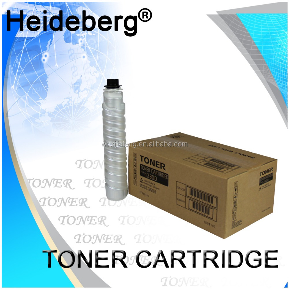 Printer toner powder for Ricoh 1230D toner cartridge