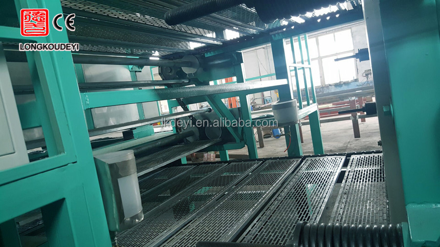 semi automatic egg tray production line