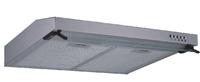 H66-600 Stainless steel smoke exhaust ventilator, ultrathin kitchens flue gas turbine, white painting range hood