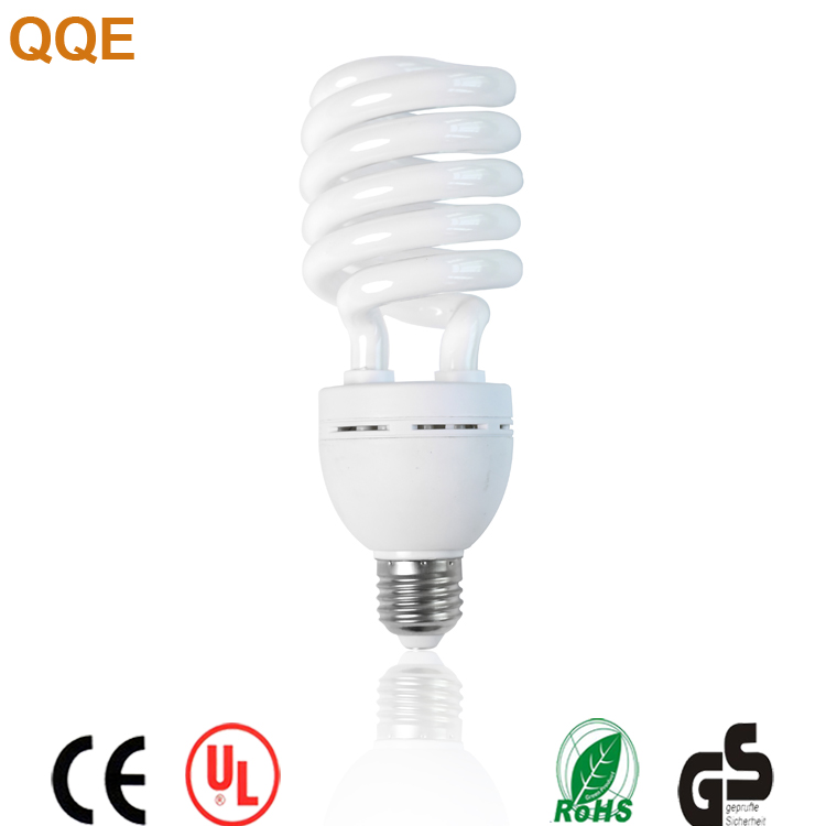Half spiral shape 27w CFL fluorescent energy saving tube lamp with CE ROHS certificate