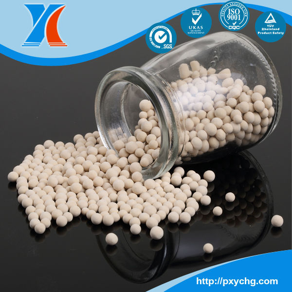 YINGCHAO Brand MSDS Zeolite Molecular sieve 3a,4a,5a,13x for Drying and Removing of CO2 from Natural Gas