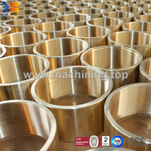 CNC Machining Brass Bushing/Copper Sleeve/Bronze Bushing