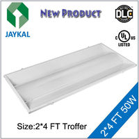 UL DLC listed LED troffer retrofit 1x4 2x2 2x4