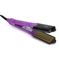 Professional New updated 4 in 1 interchangeable plates purple good quality hair flat iron hair straightener with attachments