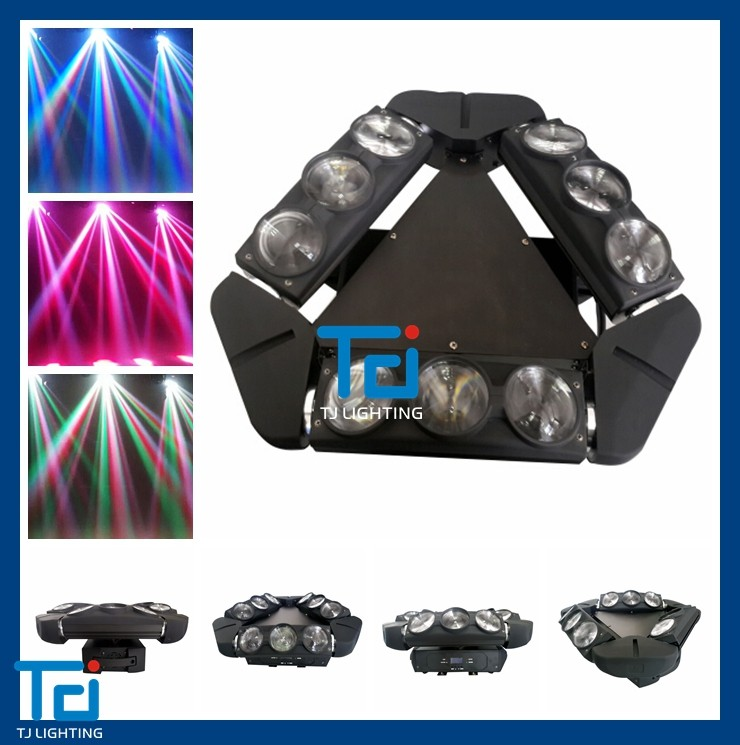 NEW Design American DJ Kaos 3-Head Spider Beam LED Moving Head