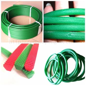 round belt green rough round belt red 75a polyurethane round belt