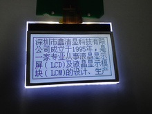 High Quality Customized Monochrome Module Graphic 12864 Lcd