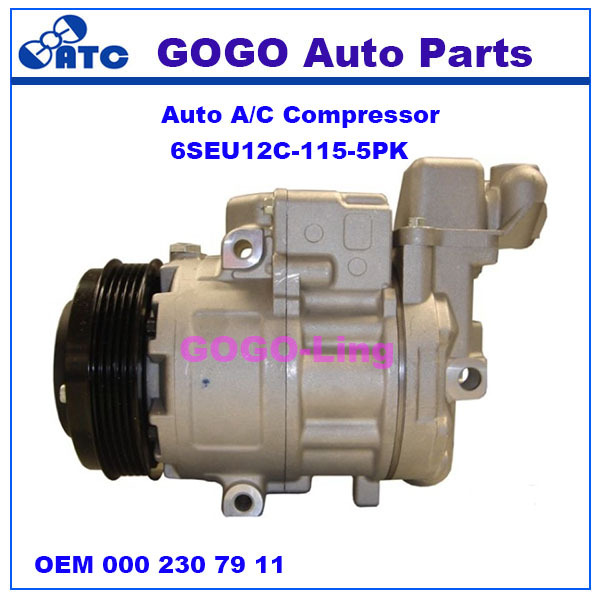6SEU12C Auto A/<strong>C</strong> Compressor for Mercedes b enz A-CLASS(W168) VANEO(414) OEM : 000 230 79 <strong>11</strong> 000 230 59 <strong>11</strong>
