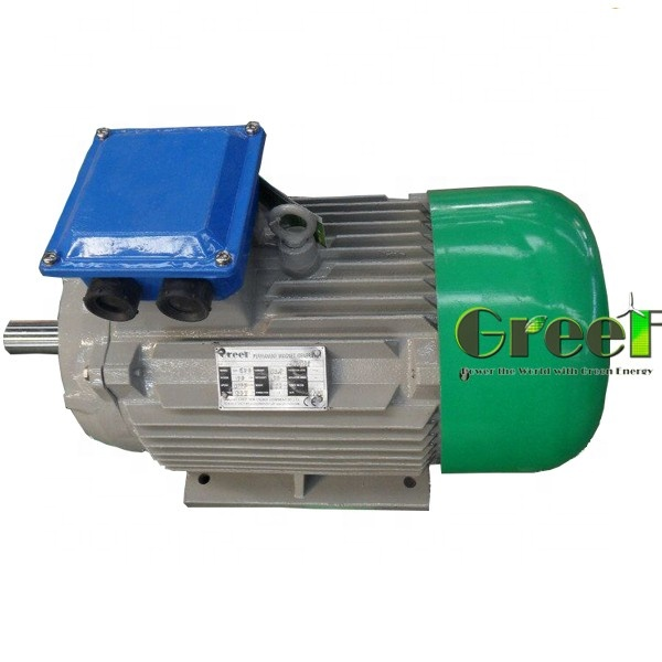 0.5KW 500W 300RPM 3 phase permanent magnet generator, hydro and <strong>wind</strong> power generator