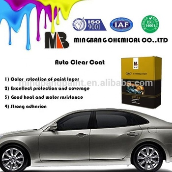 Spray Application Method and Liquid Coating State Car Refinish Clear Coat