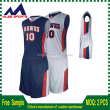 customize basketball jersey with team logo and number sublimation printing no moq