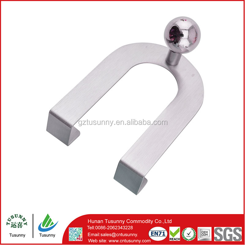 stainless steel metal adhesive hook,metal wall hanging basket hooks