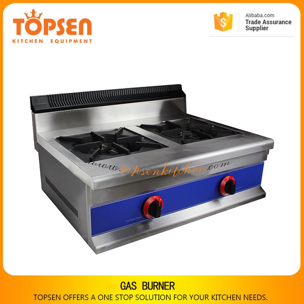Stainless steel freestanding gas cooking range / commercial gas burner