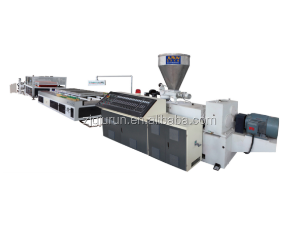 high quality low price WPC door board / panel profile production line