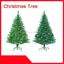 New 7ft Metal Base BSCI Artificial Big Christmas tree With Lights Popular PVC Artificial Competitive Led christmas tree