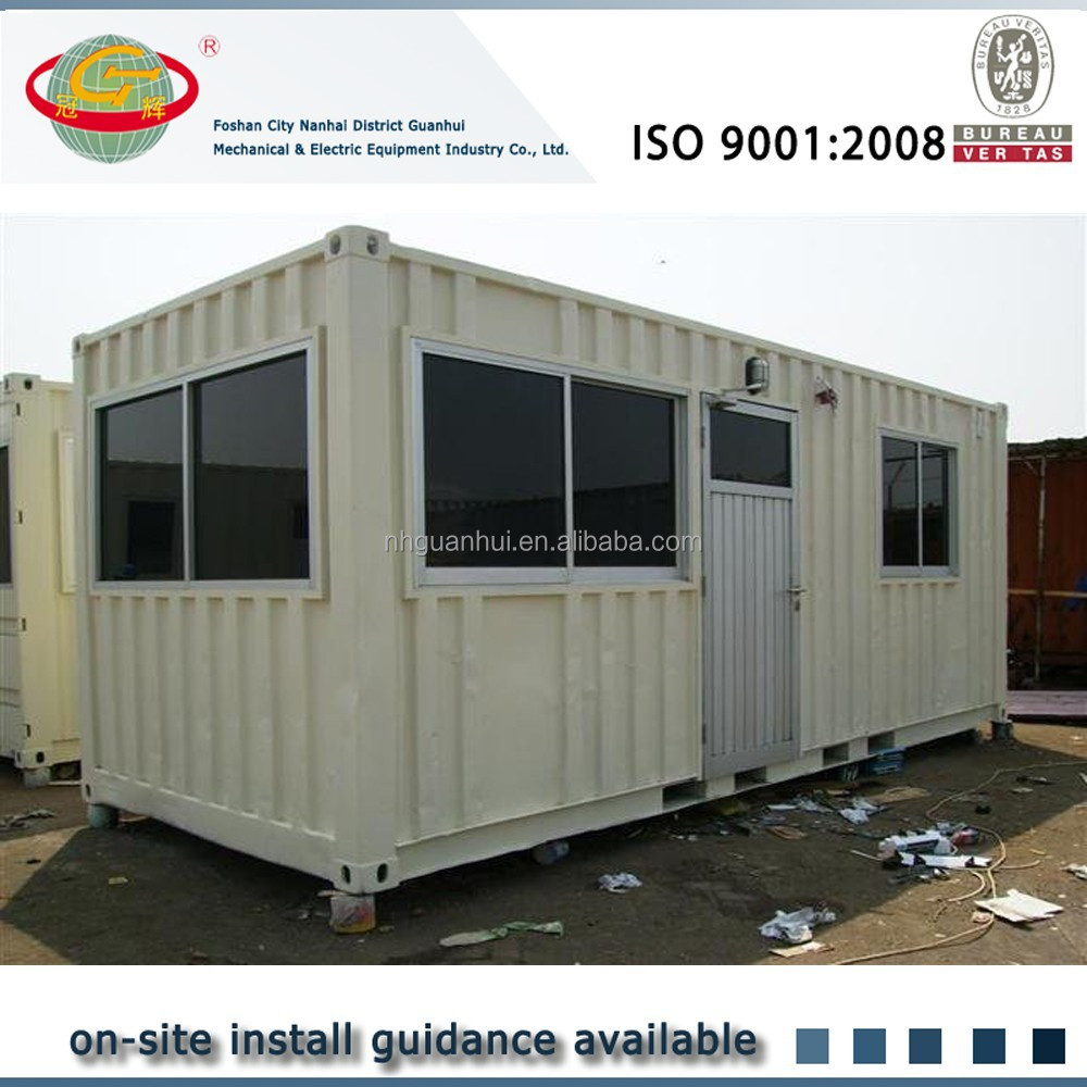 Easy assembled temperoty steel prefab rooms