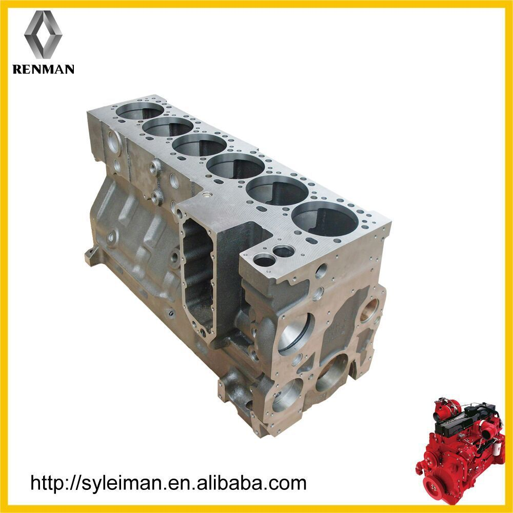 renault diesel engine block body, cylinder block for marine diesel engine D5010550603