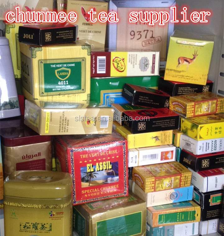 Customized herbal green chunmee tea Slimming Tea Private Label tea manufacturer