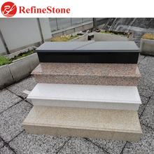 outdoor bullnose laminated granite anti-slipping stone steps risers,granite stairs