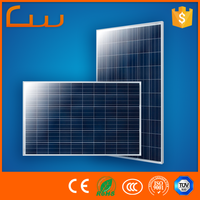 China hot sale production line wholesale 150w poly solar panel