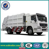 New condition SINOTRUK HOWO chassis 4X2 12CBM garbage truck