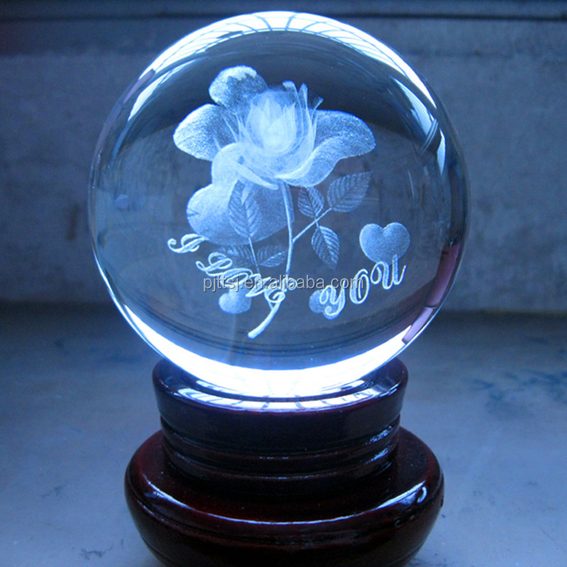3 d roseBeautiful colorful high quality crystal flower crystal rose flower for wedding decoration